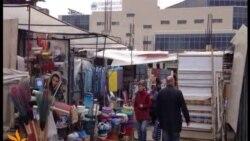 Казан базары чүплеккә әйләнгән