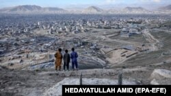 ارشیف، یو شمېر افغان ماشومان
