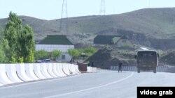 Баткен облусу. Кыргыз-тажик чек арасы.