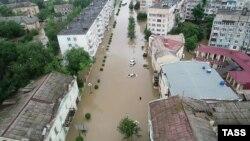Наводнение в Керчи, 17 июня 2021 года