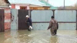 170 домов подтоплено на севере Казахстана