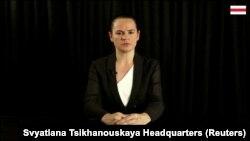 سوتلانا تیخانوفسکایا، رهبر اپوزیسیون بلاروس