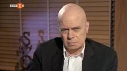 Слави Трифонов даде първото си телевизионно интервю пред БНТ