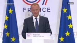 EU's Tusk: More Reasons Than Ever To Keep Russia Out Of G7