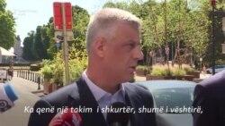 Thaçi dhe Vuçiq flasin pas takimit në Bruksel