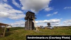 Мельницы в Мезенском районе, деревня Погорелец