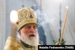 Митрополит Павло під час Різдвяної служби. Січень 2019 року