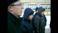 Уличная акция в Пензе против фальсификаций на выборах