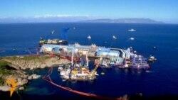 Операція з підняття круїзного судна Costa Concordia, яке зазнало катастрофи минулого року
