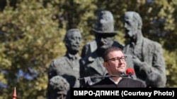 Kryetari i VMRO DPMNE-së, Hristian Mickovski.