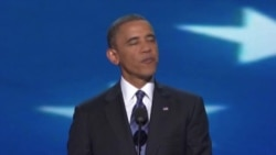 Obama Accepts Party's Nomination For Second Term