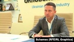 Заступник генерального директора ДК «Укроборонпром» з безпеки Роман Забарчук.