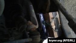 Радиоуправляемое взрывное устройство на автомобиле Сергея Нижника