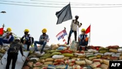 Criza din Myanmar a început pe 1 februarie, când junta militară a preluat puterea politică a țării