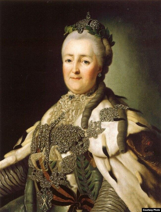 Împărăteasa Ecaterina a II-a