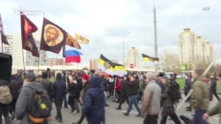 Russian Nationalists March On National Unity Day