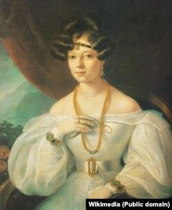 Portretul unei doamne - Barabás Miklós.