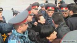 Armenian police clash with opposition MPs