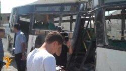 Azerbaijani Train-Bus Crash
