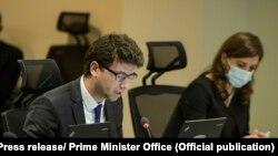 Ministri i Financave, Punës dhe Transfereve, Hekuran Murati.