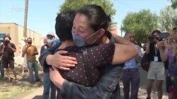 Казакстандык активист эркиндикке чыкты