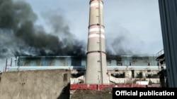 Взрыв на Ново-Ангренской ТЭС.