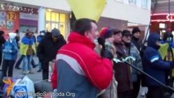 Дніпропетровський Євромайдан збирає пожертви і підтримку для протестувальників у Києві