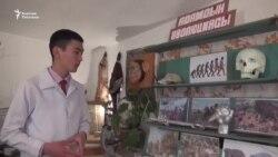 Талас: окуучунун зоо музейи