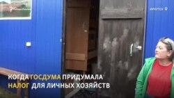 В Иркутске владельцы личных подсобных хозяйств готовятся прятать от налоговиков кур и коров в тайге