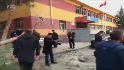 Türkiyəyə raket zərbəsi
