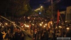 Традиционное факельное шествие памяти жертв Геноцида армян