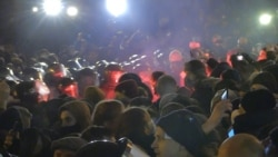 Clashes With Police In Kyiv As Protesters Demand Release Of Odesa Activist Sternenko