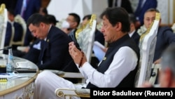 عمران خان صدراعظم پاکستان در نشست شانگهای