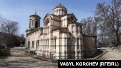 Keriçteki İoann Predteçi ibadethanesi, arhiv fotoresimi