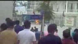 تیراندازی مستقیم عضو بسیج به جمعیت تظاهرکننده