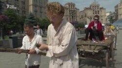 «Ні сучасному рабству» – у Києві закликали боротися з торгівлею людьми (відео)