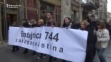 Serbian Activists Commemorate Kosovar-Albanian War Victims