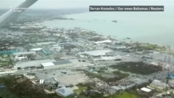 Devastacija na Bahamima nakon uragana Dorian