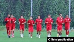 Кыргыз футболчулары.