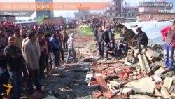 Тіла загиблих під час землетрусу в Непалі витягують з руїн