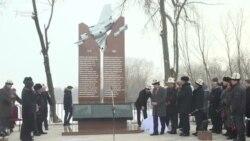 В Дачи-СУ открыли памятник погибшим при падении «Боинга-747»