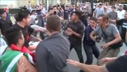 Fist Fights At Trump Rally