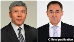 Максат Мамытканов менен Темирбек Асанбеков.