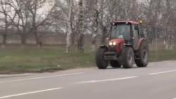 Mii de fermieri au protestat în R. Moldova