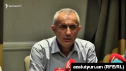 Պատերազմում զոհված շարքային Արթուր Ասրյանի հայրը՝ Արմեն Ասրյանը, 9-ը սեպտեմբերի, 2021թ.