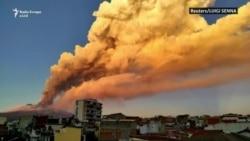 Shpërthimi i vullkanit Etna