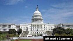 نمایی از ساختمان کنگره ایالات متحده