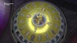 Lavrov u hramu Sv.Sava