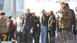 Митинг на Новом Арбате: Максим Виторган