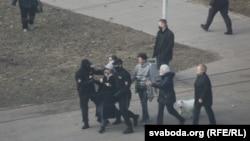 Задержания в Минске, 27 марта 2021 года.